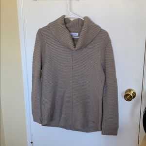Taupe colored sweater